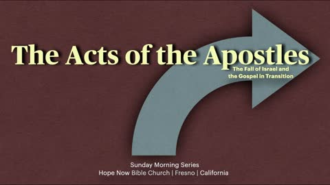 Acts 2:37-47 | Session 8 | Conviction and Converts