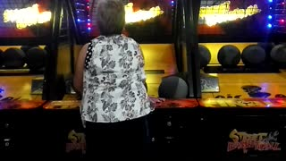 Skilled Granny Flawlessly Scores Every Time   - Video