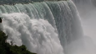 Niagara Falls displays immense power