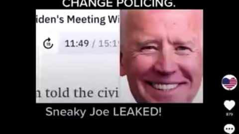 Biden leaked audio