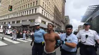 Philly police evict and arrest #OccupyICE protesters