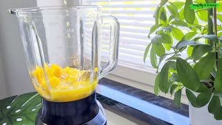 Avocado Mango Smoothie | Healthy Vegan Breakfast Smoothie Recipe