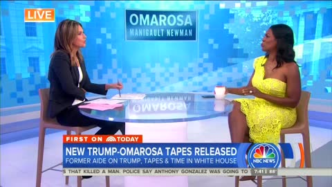 Omarosa makes things awkward, tells Guthrie the interview is over