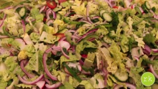 Delicious Fattoush salad recipe