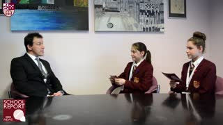 Hertswood Academy BBC News School Report - Foundations for the Future - Video