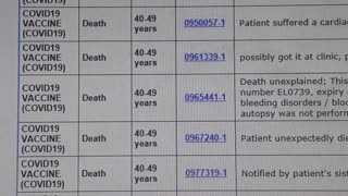 THIS LESS THAN 1% OF THE LETHAL INJECTION NUMBERS - WAKE PEOPLE UP THEY ARE GOING TO DIE FOREVER