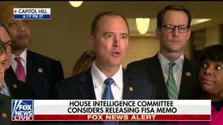 House Intel Committee Approves Release of Memo Allegedly Accusing DOJ of Surveillance Abuses - Video