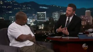 Kimmel drills Kanye West about Donald Trump's policy of separating children at border