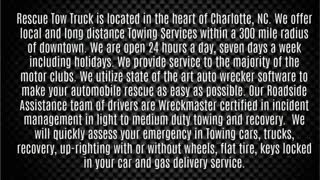 towing service charlotte nc - Video