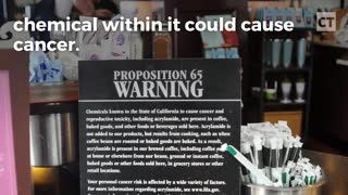 Nanny State California Could Soon Add Warning Label To Coffee - Video