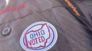 Early voting in Ohio!