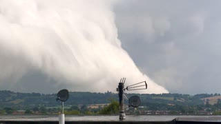 Super Cell Storm Rolling In - Video