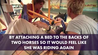 Wheelchair-Bound Woman Gets To Ride A Horse One Last Time - Video