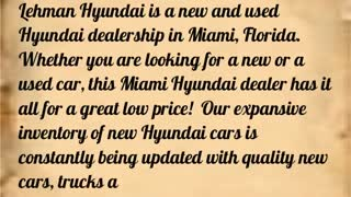 hyundai miami - Video