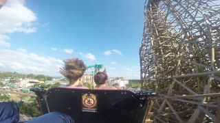 Amazing wooden Coaster in Europa Park! - Video
