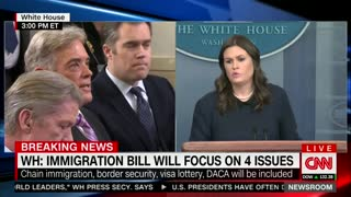 Trump, Lawmakers Agree to Focus on 4 Major Immigration Issues - Video