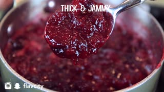 Cranberry Sauce Recipe  - Homemade & Delicious - Video