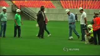 FIFA top official accused over ticket sales - Video