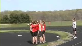 Madison's Middle School High Jump Record - Video