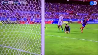 VIDEO: Munir scores the 2nd goal vs Sevilla