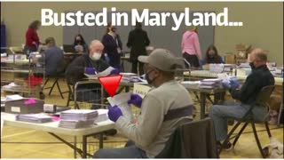 VOTER FRAUD Proof Maryland