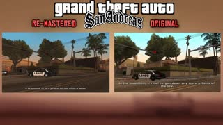 GTA: San Andreas HD Re-Mastered VS Original GTA San Andreas Graphic Comparison - Video