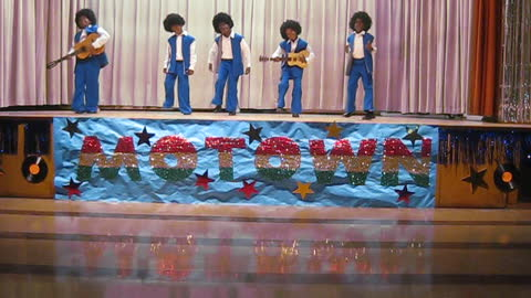 Third Graders Perfectly Recreate The Jackson 5's 'I Want You Back' At School Talent Show