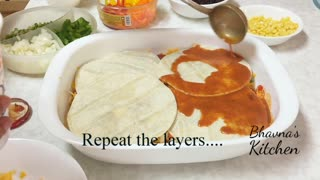 Tex-Mex vegetarian casserole recipe - Video