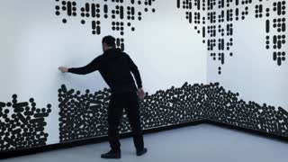 This interaction wall display will completely blow your mind