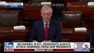 McConnell destroys Democratic opposition to potential SCOTUS nominee - Video