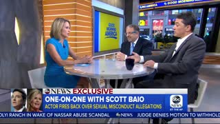 Scott Baio Denies Eggert Sexual Assault Accusations - Video