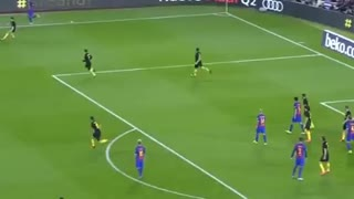 Rakitic goal vs Atletico Madrid