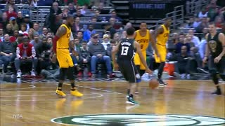 LeBron James POSTERIZED by Rookie Malcolm Brogdon With Reverse Dunk - Video