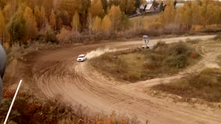 Tragic Accident at Rally Siberia - Video