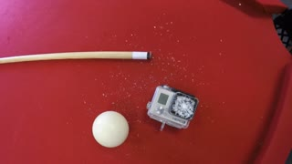 GoPro HERO3+ pool ball test - Video