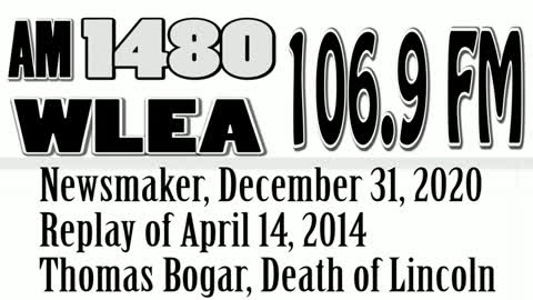 Newsmaker, December 31, 2020, Replay From April 14, 2014, Death of Lincoln