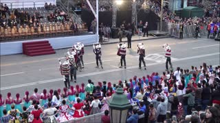 Bolivian and Peruvian traditional dance festival and celebrations in Santiago, Chile
