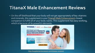 TitanaX Male Enhancement Reviews, Price and Side Effects - Video