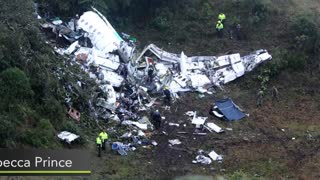 Brazil's Chapecoense Soccer Team Plane Crashes In Colombia - Video