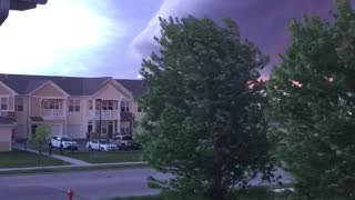 Storm Looks Like the Apocalypse - Video