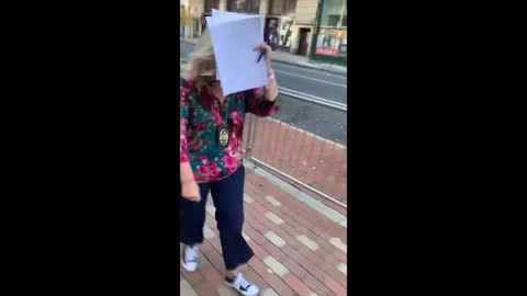 Corrupt Philly Commissioner Hides Her Face When Trump Lawyer Attempts Interview