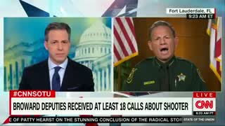 "Broward County Sheriff Scott Israel says he ""provided AMAZING LEADERSHIP"