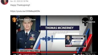 General McInerney admits Chief Justice John Roberts is Compromised