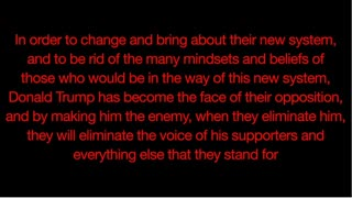 Trump and the New World Order