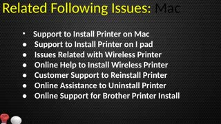 +44-800-046-5291 Brother Printer Installation Support - Video