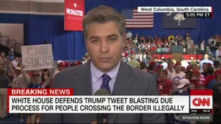 Jim Acosta not welcome at Trump rally - Video