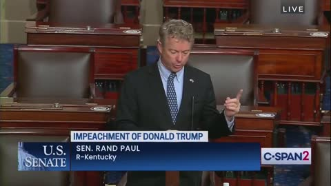 Rand Paul UNLOADS on Impeachment, the Media and Democrats' Double Standard.