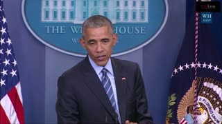 "President Obama: ""Cut It Out"" to Russian President Vladimir Putin"