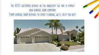 mesa az garage door repairs - Video