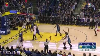 Steph Curry is BACK to Being Steph Curry with RIDICULOUS Near Half-Court Shot - Video